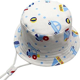4cf9966231427 Langzhen Chapeau de Soleil Anti-uv Bonnet Voiture pour Bébé Enfant Fille  Garçon Bob Hat