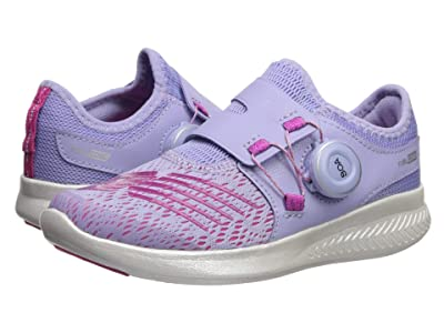 New Balance Kids FuelCore Reveal (Little Kid) (Clear Amethyst/Carnival) Girls Shoes