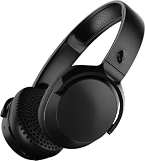 Skullcandy S5PXW-L003 Riff Wireless On-Ear Headphones with Microphone - Black
