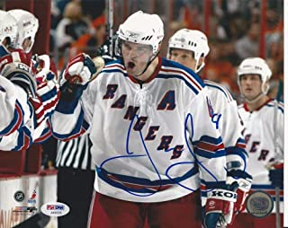 Jaromir Jagr Signed Ny Rangers 8x10 Photo - PSA/DNA Authenticated