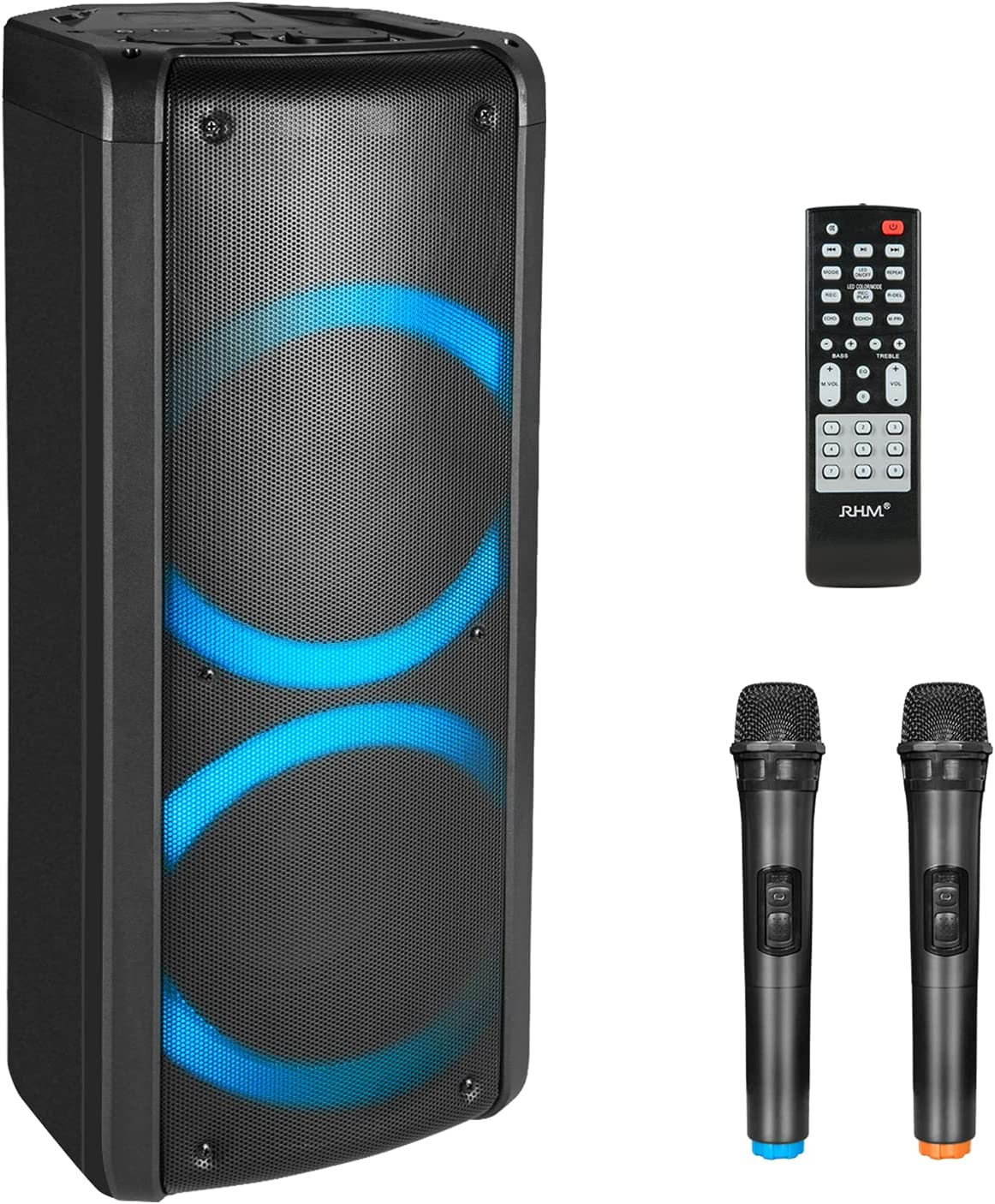 RHM Karaoke Machine for Adults Portable Bluetooth Phoenix Mall PA Max 53% OFF Kids Speak