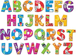 Learning Resources Alphabet Puzzle Cards, 52 Pieces