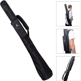 Australian Treasures - BOLSO DIDGERIDOO 150 cm - Nylon PRO Didgeridoo bolsa campana Ø 17 cm. Correa de hombro ajustable