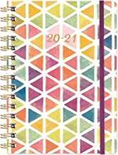 "2020-2021 Planner - Academic Weekly & Monthly Planner with Tabs, 6.3"" x 8.4"", July 2020 - June 2021, Hardcover with Back P..."