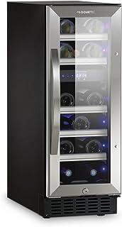 Dometic MaCave S17G – vinskåp, 17 flaskor, vinkylskåp med två temperaturzoner, kylskåp för drycker