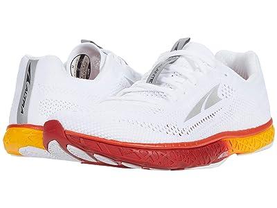Altra Footwear Escalante Racer (White/Orange) Men