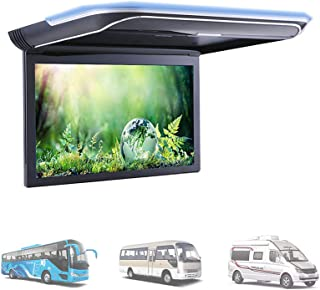 Car Roof Mount Player Monitor,11.6 inch Vehicle IPS Display Screen Video Car Overhead Player HDMI USB Card Input with Buil...