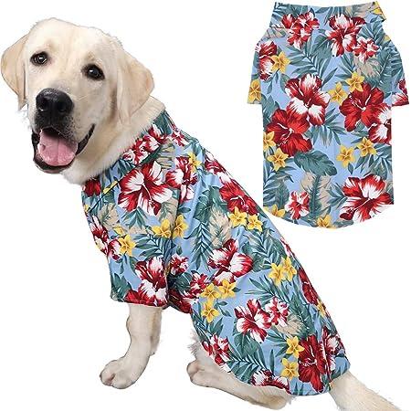 Medium Dog color:Gray Large Dog oversized Dog clothes S-8XL Haibuy Pet Dog T-shirt cotton Vest summer mesh breathable Dog Shirt for Small dog