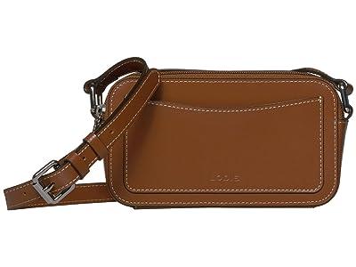 Lodis Accessories Audrey Arabella Crossbody (Sequoia/Papaya) Handbags