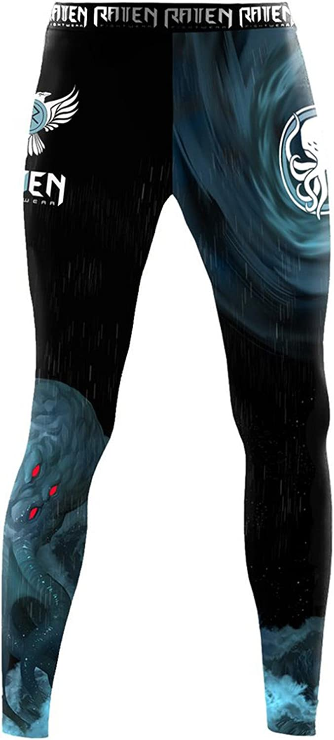 Raven Fightwear Cheap mail order specialty store Men's The Great Old MMA Cthulhu Bl BJJ One Long-awaited Spats