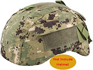 ATAIRSOFT Emerson Airsoft Tactical Helmet Cover for Military MICH 2001 Ver2/ACH Helmet (AOR2)