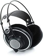 AKG Pro Audio Professional Headphones, Black, 1/4