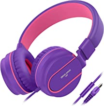 Besom i36 Wired Headphones for Kids Girls Boys Teens Adults Stereo Foldable On-Ear..