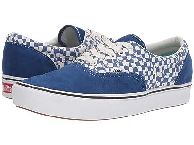 Vans ComfyCush Era ((Tear Check) True Blue/True White) Athletic Shoes