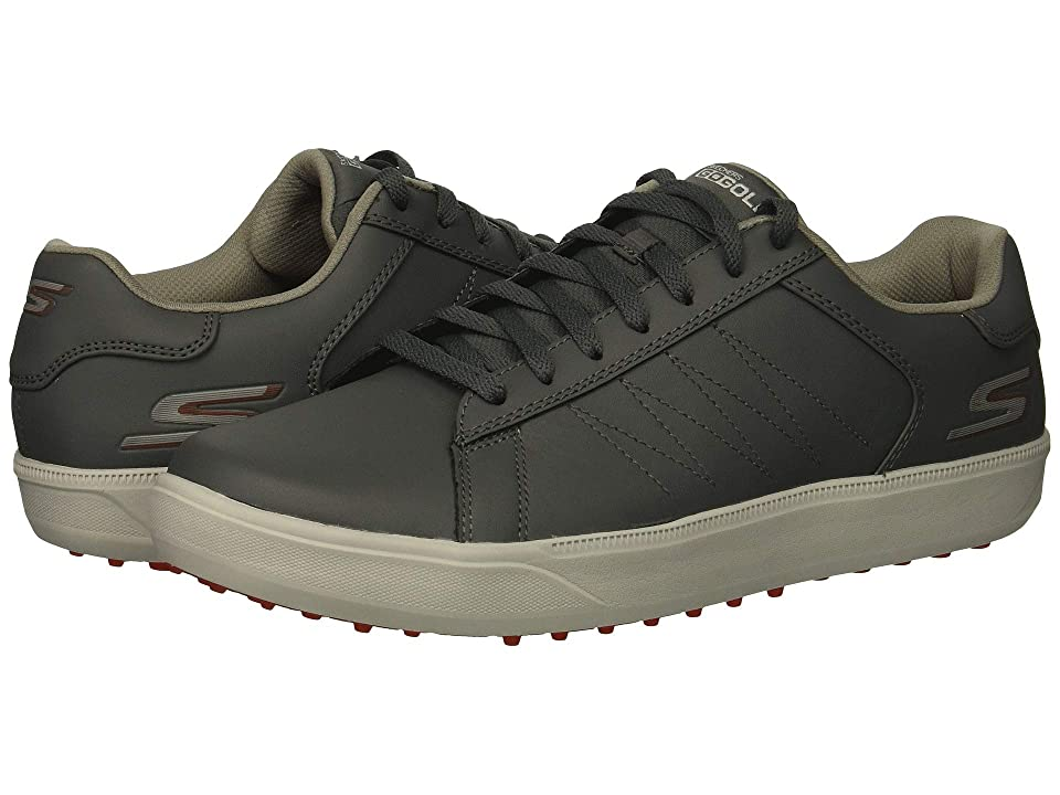 Skechers GO GOLF Drive 4 (Charcoal/Red) Men