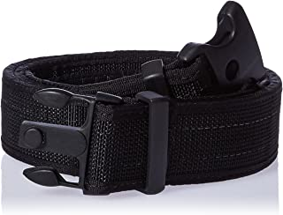 Uncle Mike's Law Enforcement Kodra Nylon Web Ultra Duty Belt with Hook and Loop Lining
