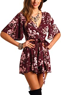red romper with sleeves