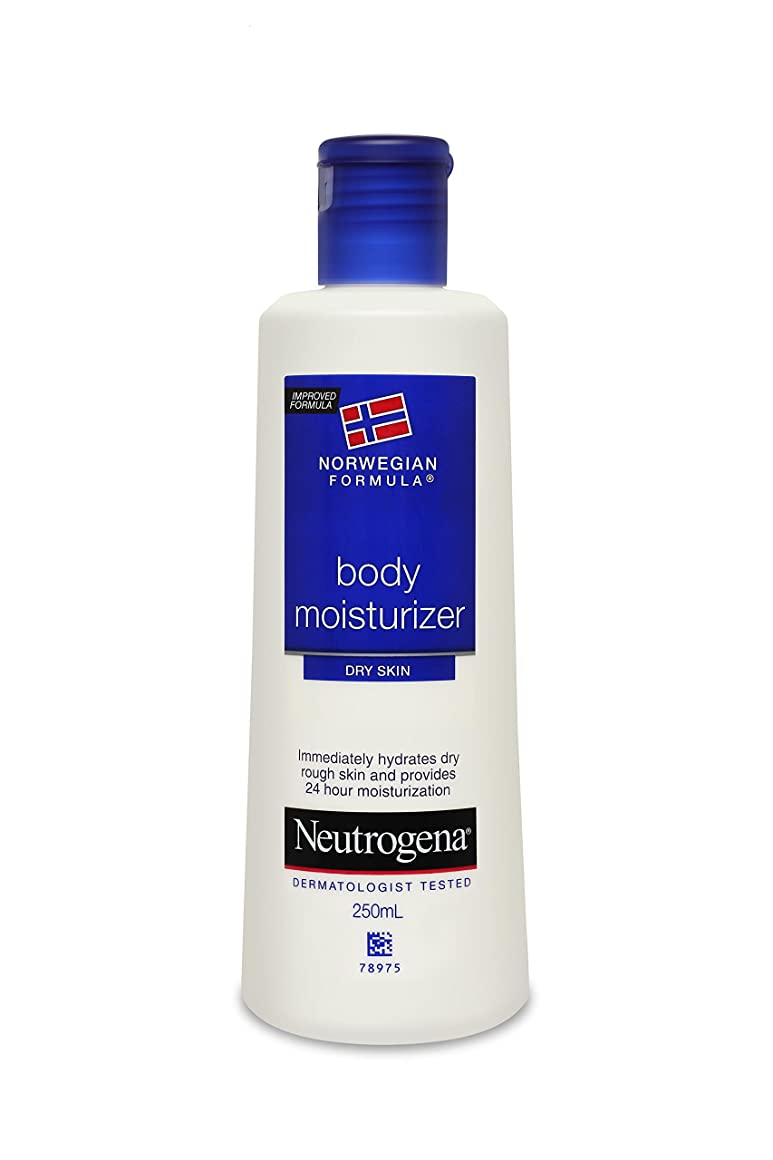 拮抗する軽明らかにするNeutrogena Norwegian Formula Body Moisturizer (for Dry Skin), 250ml
