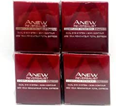 4 x AVON Anew Reversalist Complete Renewal Express Dual Eye System 15ml - 0.5oz SET !