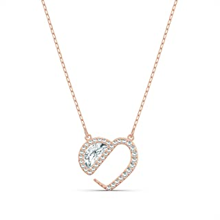 Swarovski Collar Hear Heart, Blanco, Amazon Exclusivos