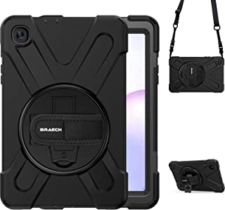 BRAECN Galaxy Tab A 8.4 Case 2020, SM-T307U Case,Heavy Duty Shockproof Case with Hand Strap Shoulder Strap Kickstand for S...