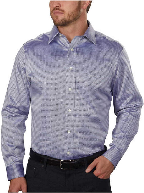 Kirkland Signature Men's Non-Iron Spread Collar Dress Shirt