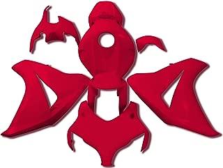 Yana Shiki BKH210RED Red ABS Plastic Full Body Fairing Kit