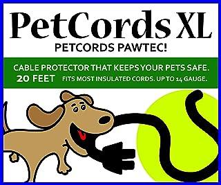 小さくてコンパクト PetCords犬と猫のコードプロテクター-ペットや生き物を噛むのを防ぎます。