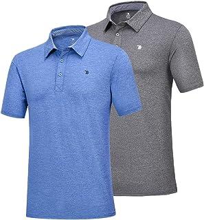 قميص بولو صيفي كلاسيكي للجولف للرجال من JINSHI