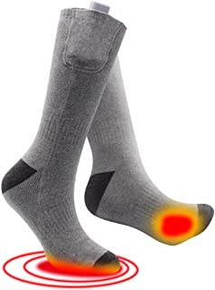Heated Socks for Chronically Cold Feet Outdoor Sports 3.7 Voltage Adjustable Temperatur Thermosocks