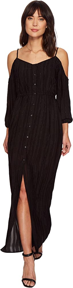 BB Dakota Keaton Textured Maxi Dress
