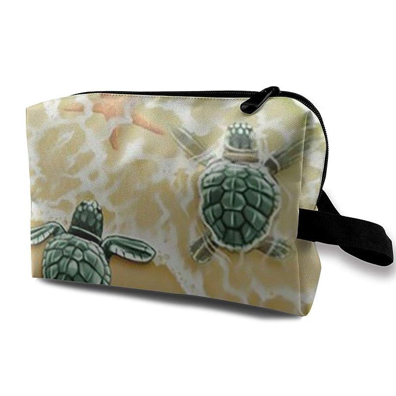 推定するすばらしいです健全トラベルコスメティックバッグ 化粧品袋 トラベルコスメバッグ 収納袋 トラベルバッグ ウォッシュバッグ ペンケース 化粧ポーチ トラベル用化粧ポーチ 浜辺 ユニセックス 大容量 防水 多機能 ジッパー プリント