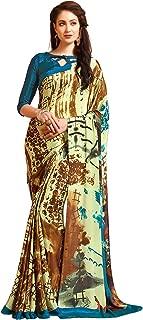 Jaanvi fashion Womens Crepe Silk Printed Saree (celebration-7708-a)