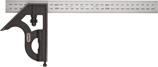 Starrett 11MH-300 Kombinationswinkel 300 mm mit Winkelaufsatz, metrisch