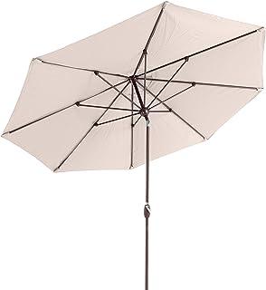 SORARA Palermo Parasol /Ø 300 cm Inclinable Gris