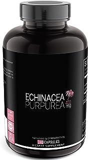 Echinacea Purpurea 400mg — 240 Count (V-Capsules) / 240 Servings: Manufactured in a cGMP-Registered Facilit...