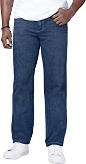 Men's Big & Tall Relaxed-Fit Side Elastic 5-Pocket Jeans