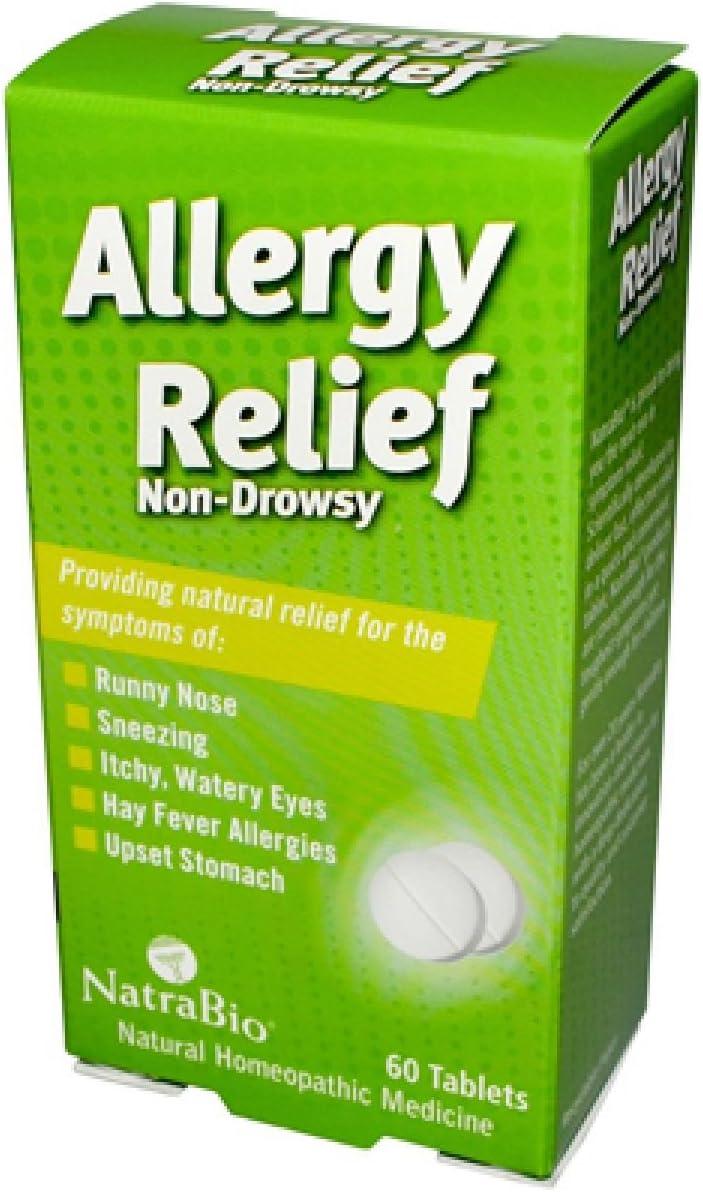 NatraBio Allergy Relief 60 Max 53% OFF Count of 2 Pack Overseas parallel import regular item