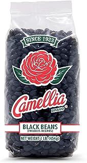 Camellia Brand Black Beans Dry Bean 1 Pound Bag