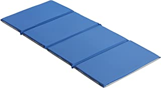 """ECR4Kids 4-Fold Value Blue and Grey Rest Mat (1"""" Thick)"""