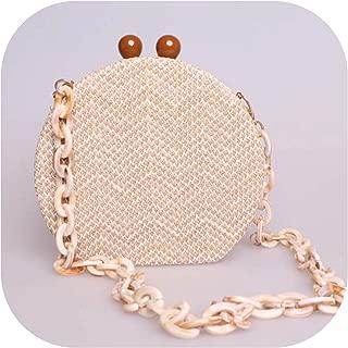 Shoulder Messenger Bags Straw Beach Handbags Designer Chains Cross Body Bags