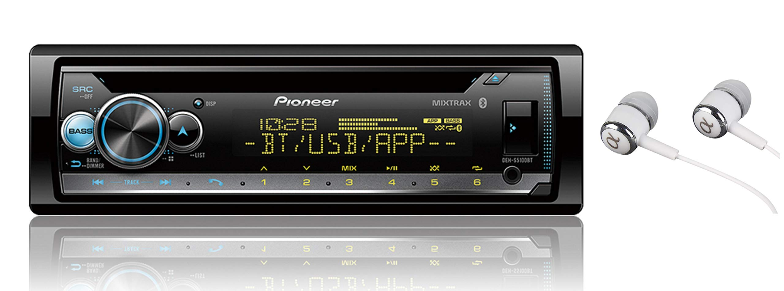 Pioneer DEH S5000BT Compatibility Bluetooth Customization