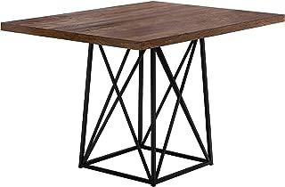 Monarch Specialties 1107 Dining Table Metal, 36