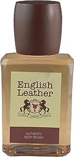 Dana English Leather Authentic Body Splash For Men 3.4 fl oz - Fragrance Oil - Signature Collection - Unboxed