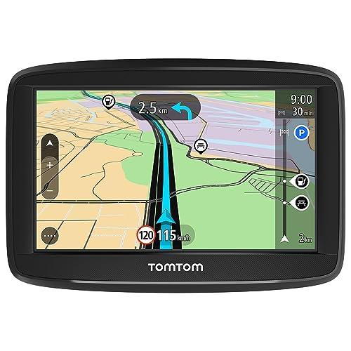 TomTom Start 42 - Navegador para coche, 4,3 pulgadas, mapas de la