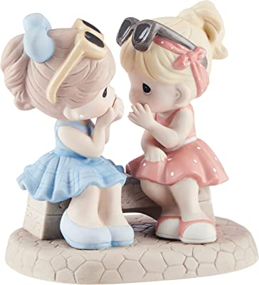 Precious Moments, That's What Friends are for, Bisque Porcelain Figurine, 134016