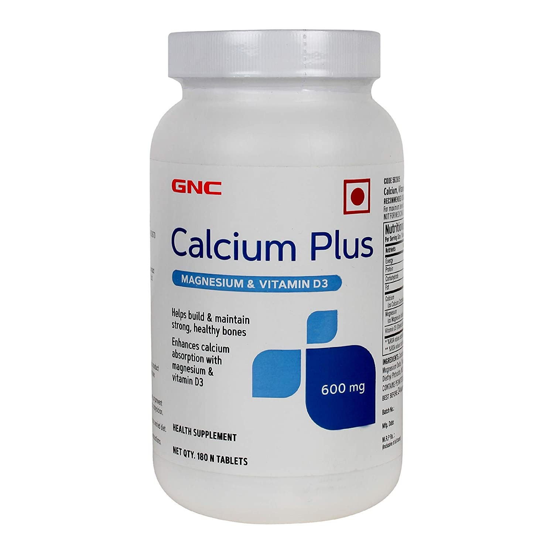 GNC Calcium plus Magnesium and Vitamin D3 is the best calcium tablets for women india