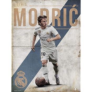 Grupo Erik Print Real Madrid Modric, Multicolor, 30x40 cm: Amazon.es: Hogar