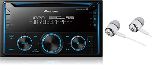 Double DIN CD Receiver with Improved Pioneer Smart Sync App Compatibility, MIXTRAX, Built-in Bluetooth