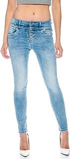 Crazy Age damskie spodnie jeansowe z napisem, świetne spodnie, niezwykłe powiedzonka, jednorazowe szalone